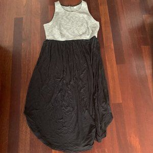 Old Navy Sleeveless Midi Color Block Dress